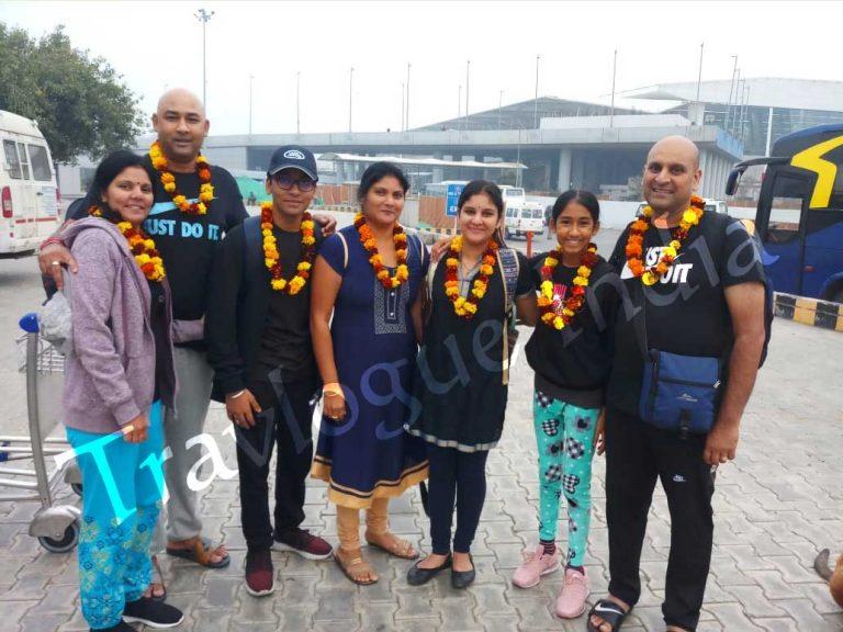 Ms.-Sandhya-Lalla-&-Family